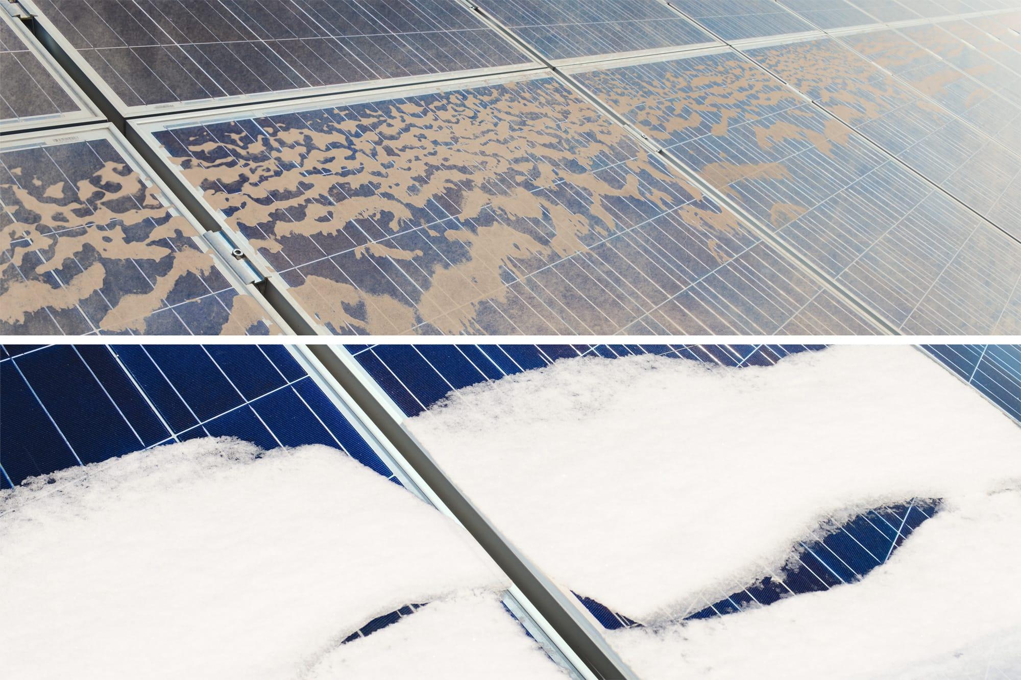Panneau solaire sale | Sketch Nanotechnologies
